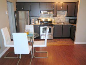 Cuisine - Appartement 3 et demi - 19 rue de Callières