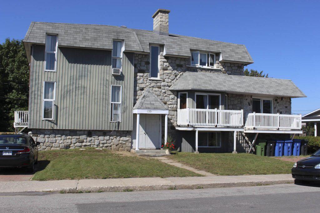 Immeuble locatif rue Gouin- Trois-Rivières - Société Nicolyn